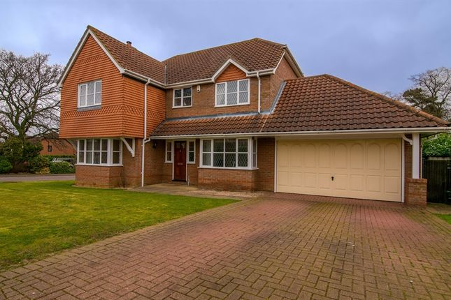Thumbnail Detached house for sale in Windingbrook Lane, Collingtree, Northampton