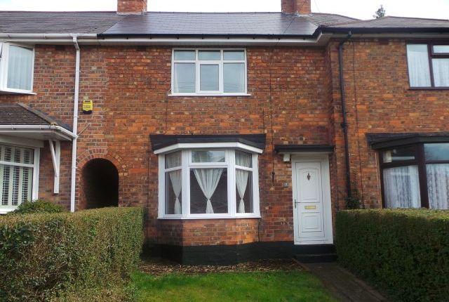 Thumbnail Terraced house for sale in Glendon Road, Erdington, Birmingham