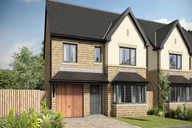 Thumbnail Detached house for sale in Rowan Meadows, Leigh, Lancashire