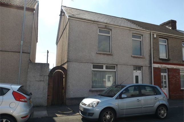 Thumbnail End terrace house for sale in Pendarvis Terrace, Aberavon, Port Talbot, West Glamorgan