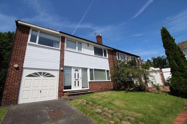Thumbnail Semi-detached house to rent in Sheldon Grove, Gosforth, Newcastle Upon Tyne