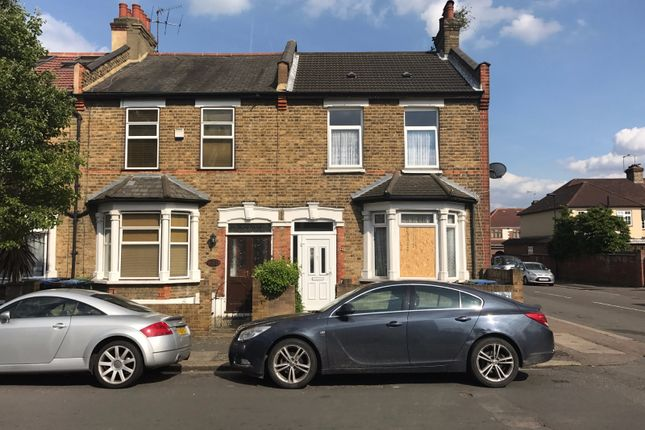 Thumbnail End terrace house for sale in Oxford Road, Enfield