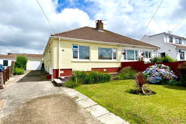 Thumbnail Semi-detached bungalow for sale in 10 Burns Crescent, Bridgend