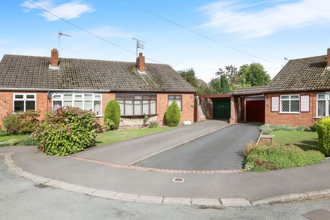 Thumbnail Semi-detached bungalow for sale in Holmcroft Gardens, Coven, Wolverhampton