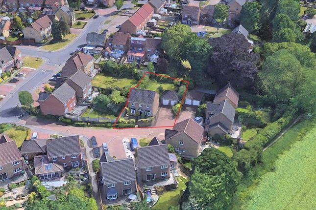 Aerial View of Nightingale Close, Abbots Langley WD5