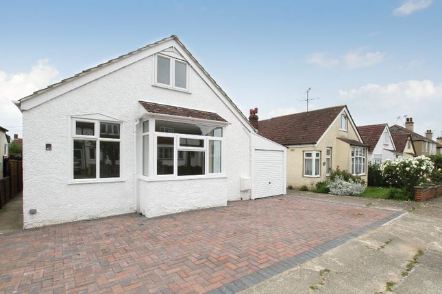 Thumbnail Detached bungalow for sale in Wynn Road, Whitstable