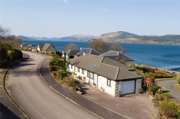 Thumbnail Detached bungalow for sale in Baycrofts, Strachur, Cairndow, Argyll And Bute