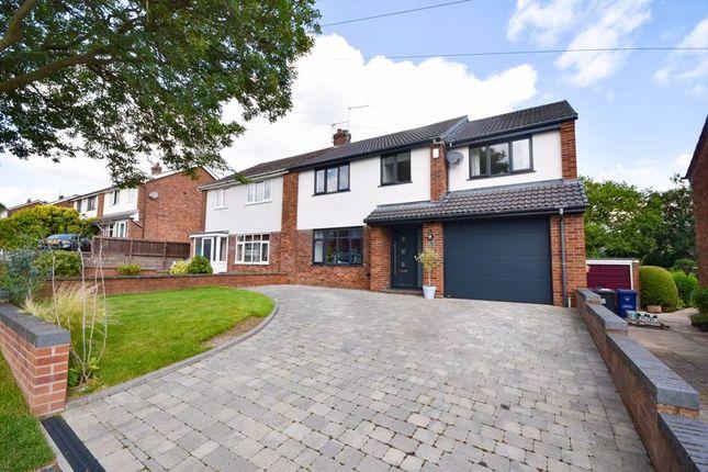 Thumbnail Semi-detached house for sale in Ridgmont Road, Seabridge, Newcastle
