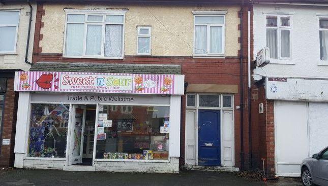 Thumbnail Retail premises for sale in Waterloo Road, Blackpool