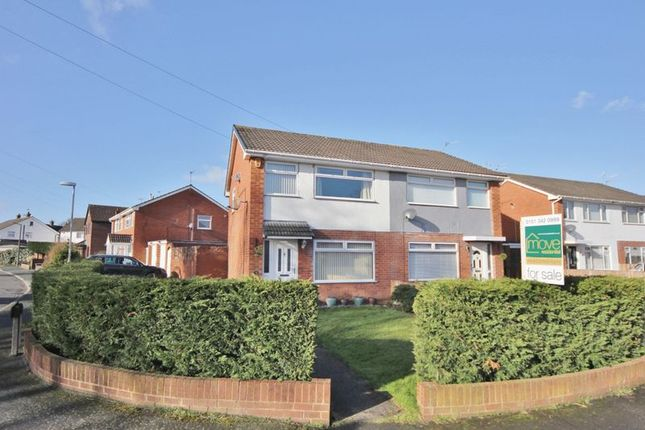 Thumbnail Semi-detached house for sale in Marksway, Pensby, Wirral