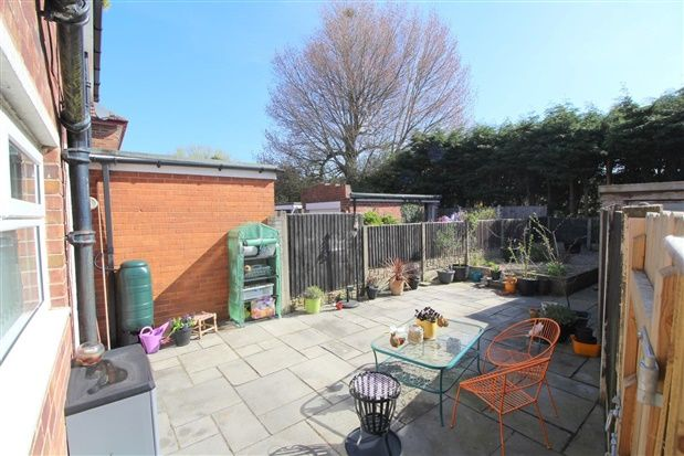 Rear Garden View of Ascot Road, Thornton Cleveleys FY5