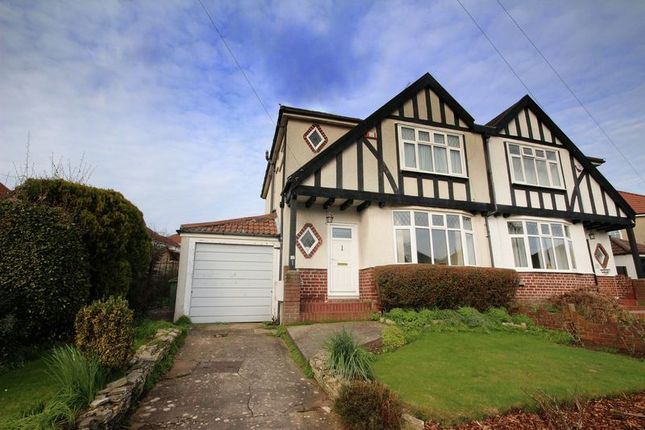 Thumbnail Semi-detached house for sale in Southdown Road, Westbury-On-Trym, Bristol