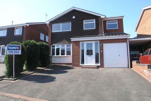 Thumbnail Detached house for sale in Ainsdale Gardens, Hayley Green, Halesowen