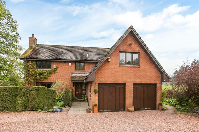 Thumbnail Detached house for sale in Medwyn Road, West Linton