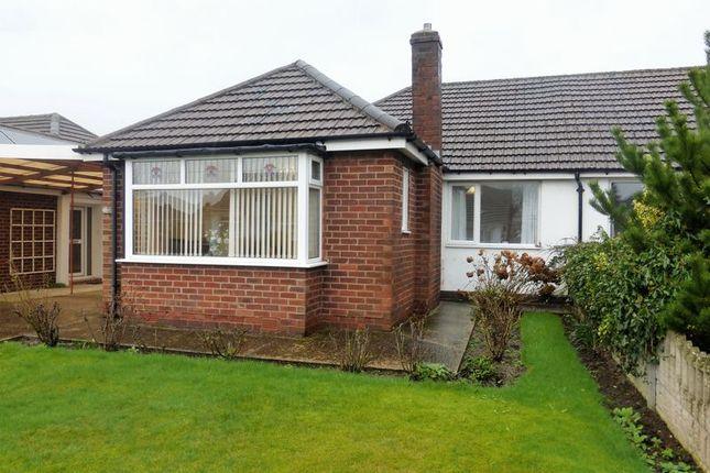 Thumbnail Semi-detached bungalow for sale in Gower Grove, Walmer Bridge, Preston