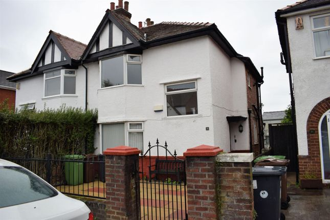 Thumbnail Semi-detached house to rent in Dinorwic Road, Southport