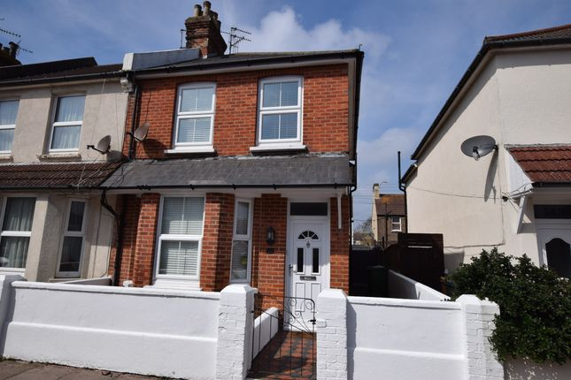 2 bed end terrace house for sale in Latimer Road, Eastbourne