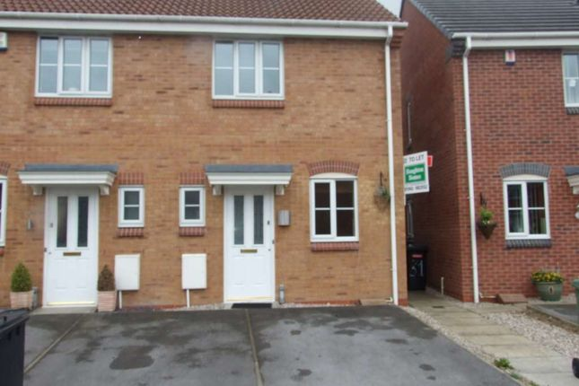Thumbnail Mews house to rent in Crossfield Drive, Hindley Green, Wigan