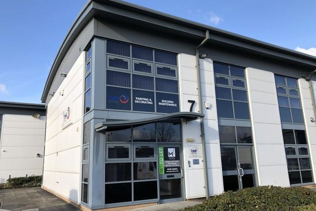 Office to let in Unit 7, Evolution Business Park, Hooters Hall Road, Newcastle-Under-Lyme