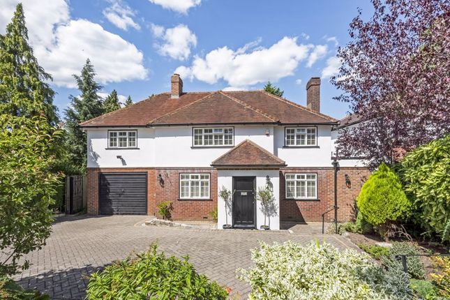 Thumbnail Detached house for sale in Burgh Wood, Banstead