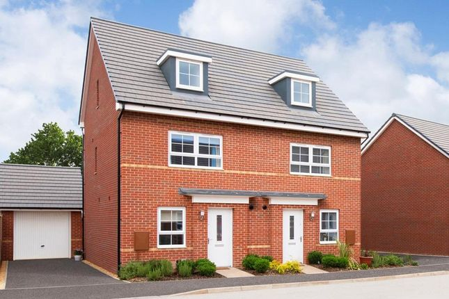 "Thumbnail Semi-detached house for sale in ""Kingsville"" at Somerset Avenue, Leicester"