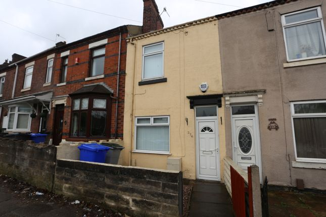 Thumbnail Terraced house to rent in Werrington Road, Bucknall