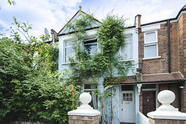 Thumbnail Terraced house to rent in Crewys Road, Child's Hill