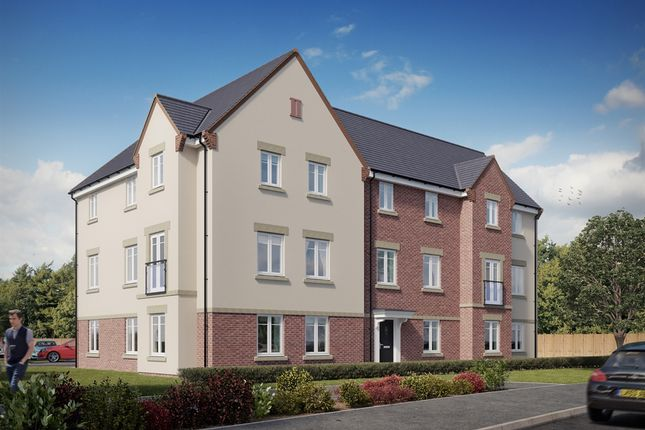 "Thumbnail Flat for sale in ""Nagle House "" at Forge Wood, Crawley"
