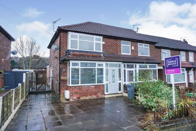 3 bed end terrace house for sale in Broomhall Road, Blackley, Manchester M9