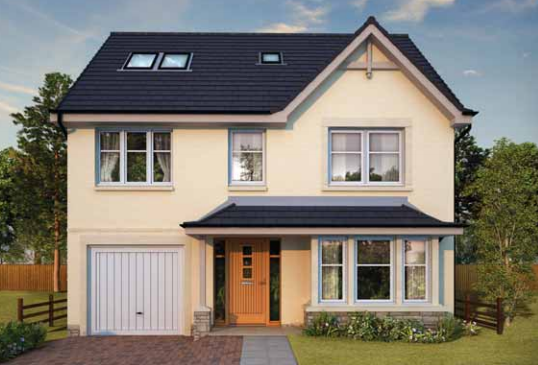 Thumbnail Detached house for sale in Plot 185, 216 & 222, Ostlers Way, Kirkcaldy, Fife