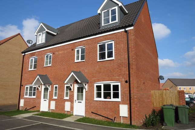 Thumbnail Semi-detached house for sale in Greylag Close, Sprowston, Norwich