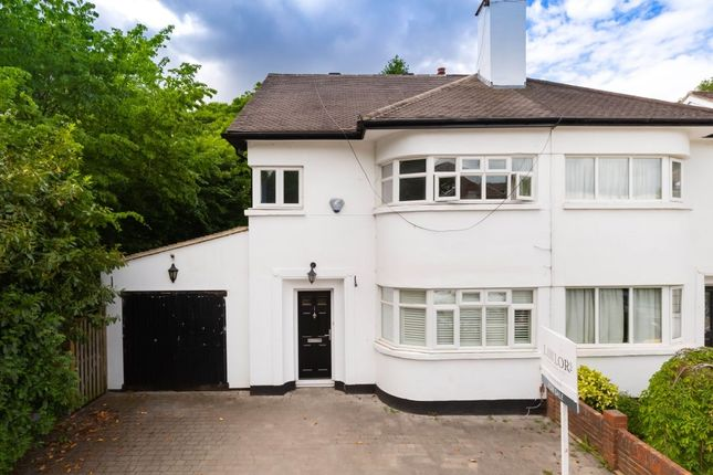 Thumbnail Semi-detached house for sale in Harman Avenue, Woodford Green