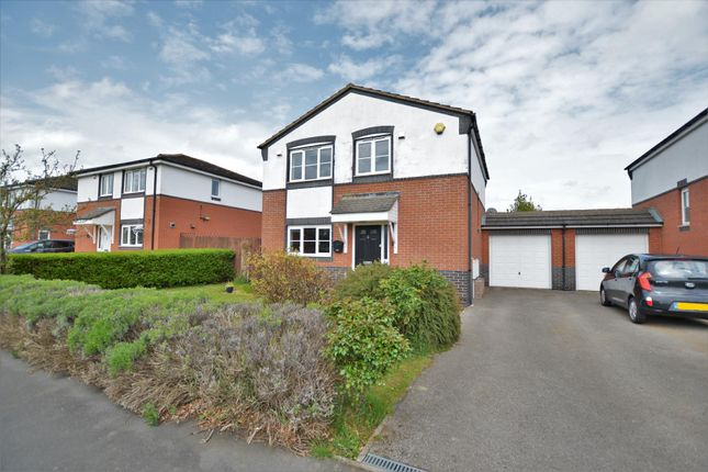 Thumbnail Detached house to rent in Harrier Close, Cottesmore, Oakham