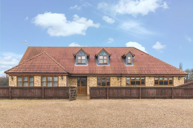 Thumbnail Bungalow for sale in Crowland Road, Eye, Peterborough