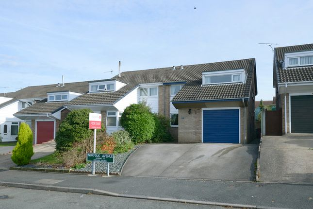 Thumbnail Semi-detached house for sale in Norfolk Avenue, Grassmoor, Chesterfield