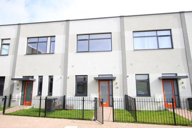 Thumbnail Town house for sale in Paper Mill Lane, Bramford, Ipswich, Suffolk