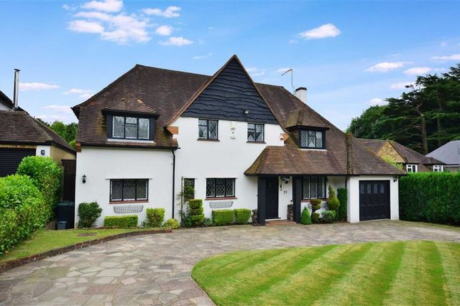 Thumbnail Detached house for sale in Chestnut Avenue, Rickmansworth, Hertfordshire