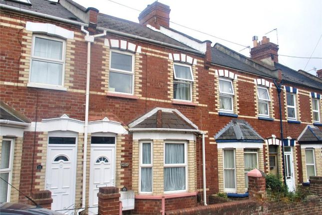 Thumbnail Terraced house to rent in Commins Road, Exeter, Devon