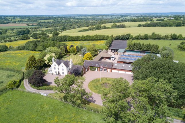 Thumbnail Detached house for sale in Woodcock Heath, Kingstone, Uttoxeter, Staffordshire