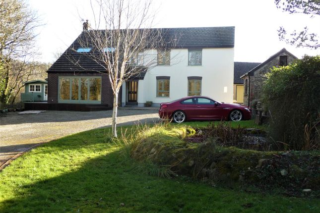 Thumbnail Detached house for sale in Ford House And Ford Cottage, Wolfscastle, Haverfordwest, Pembrokeshire