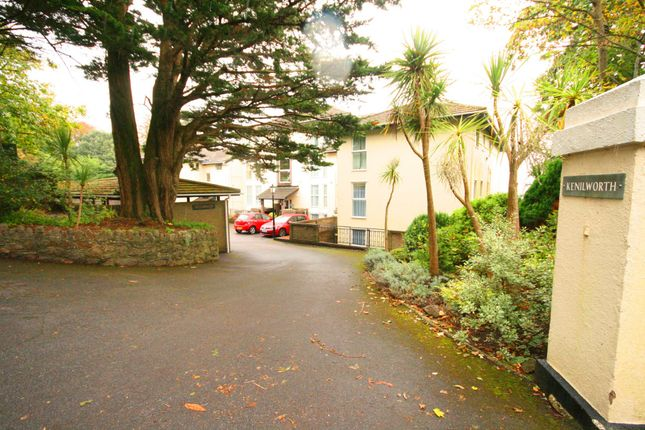 Thumbnail Flat to rent in Kenilworth, Higher Lincombe Road, Torquay, Devon
