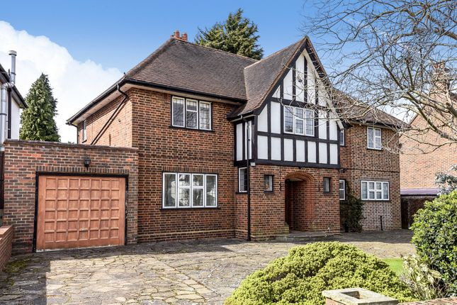 Thumbnail Detached house for sale in Upfield, Croydon