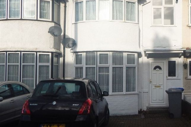 Thumbnail Terraced house to rent in Girton Avenue, Colindale
