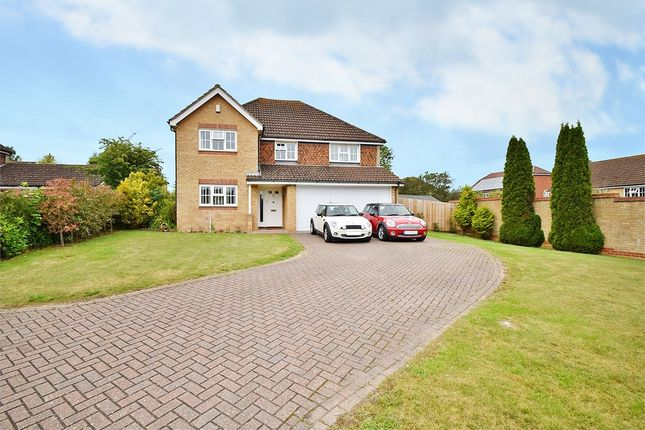 Thumbnail Detached house to rent in Hoads Wood Gardens, Ashford