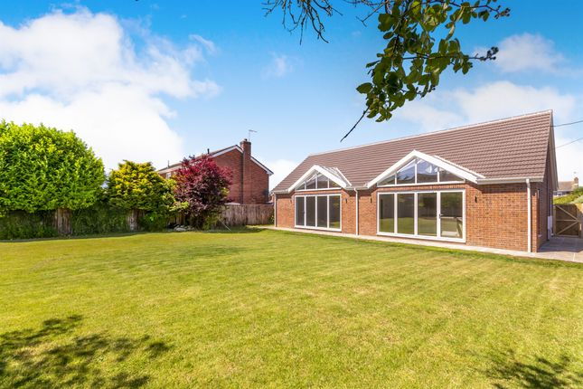 Thumbnail Detached bungalow for sale in Washdyke Lane, Leasingham, Sleaford