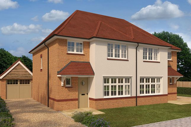 """Thumbnail Semi-detached house for sale in """"Ludlow"""" at Westend, Stonehouse"""
