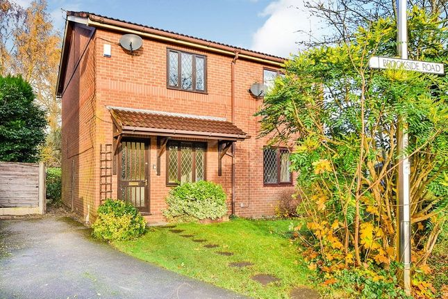 2 bed semi-detached house to rent in Brookside Road, Gatley, Cheadle SK8