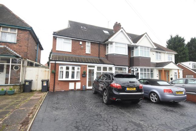 Thumbnail Semi-detached house for sale in Madison Avenue, Hodge Hill, Birmingham