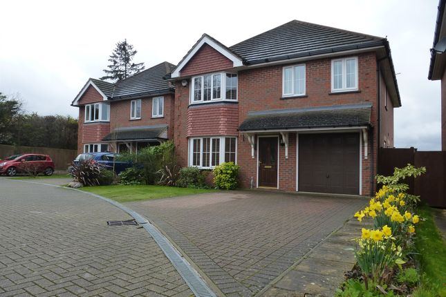 Thumbnail Detached house for sale in Hatherley Chase, Luton