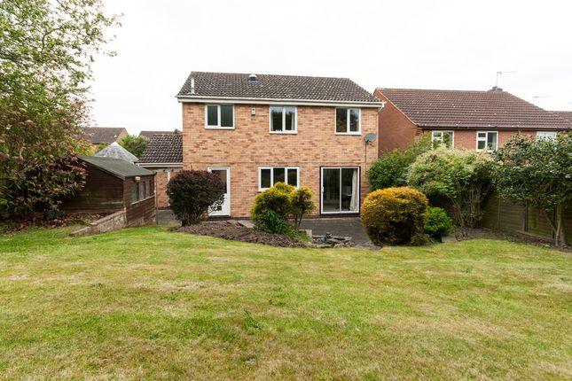 Thumbnail Detached house for sale in Fox Road, Castle Donington, Derby